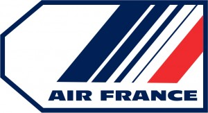 Air France luggage tag