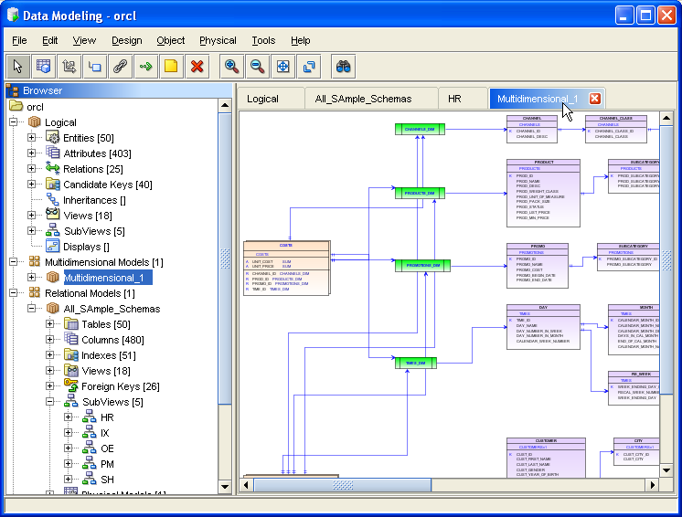 Oracle sql developer data modeling 1. 5. 1 early adopter release.