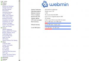 Webmin on Ubuntu 9.10 Karmic Koala